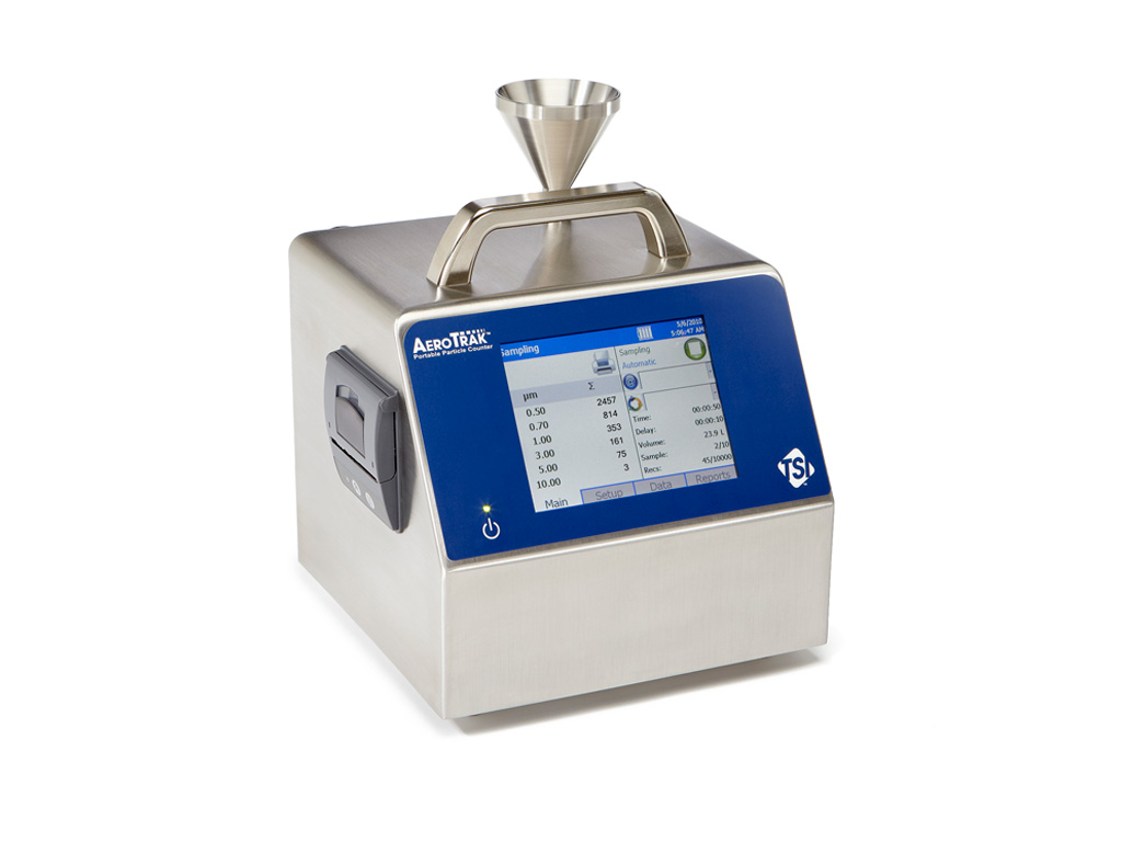 Portable particle counters - QSGroup